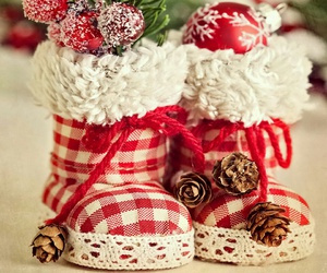 christmas, cozy, and shoes image