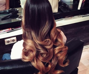 hair, style, and ombre image