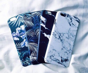 case, iphone, and blue image