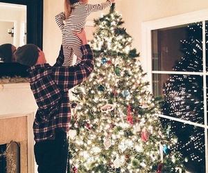 christmas, baby, and family image