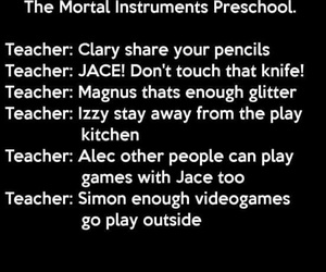 book, funny, and the mortal instruments image