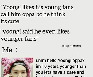 kpop, meme, and suga image