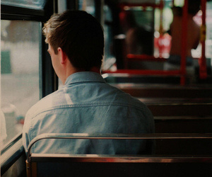 boy, bus, and photography image
