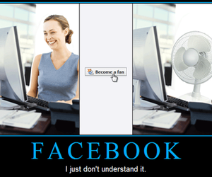 facebook, fan, and woman image
