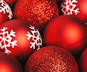 background, christmas, and red image