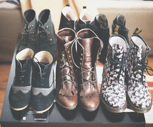 fall fashion, fashion, and boots image