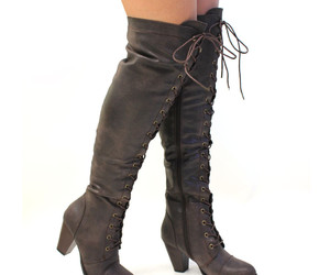 boots, fall, and fall fashion image
