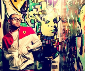chris brown, breezy, and art image