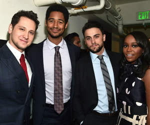 alfred enoch, connor walsh, and friends image