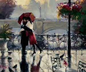 art, painting, and romantic image