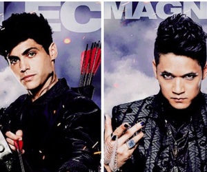 shadowhunters, magnus, and magnus bane image