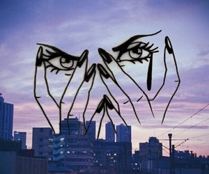 city, grunge, and girl image