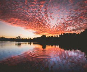 nature, sky, and water image