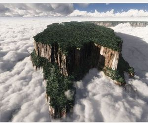 venezuela, nature, and clouds image