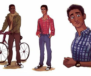 art, e, and alfred enoch image