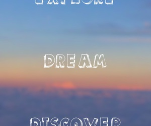clouds, discover, and Dream image