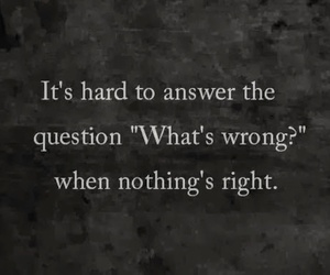 quotes, sad, and wrong image