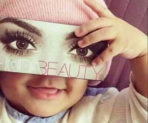 baby, makeup, and sweet image