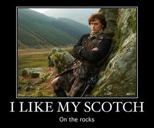 jamie, rocks, and scotch image