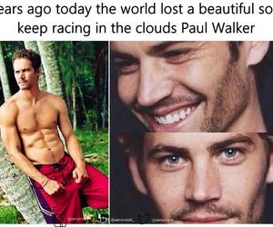 paul walker, love, and angel image