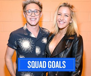 Ellie Goulding, niall horan, and one direction image