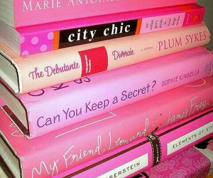 book, pink, and girly image