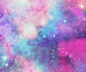 galaxy, 💙, and 💜 image
