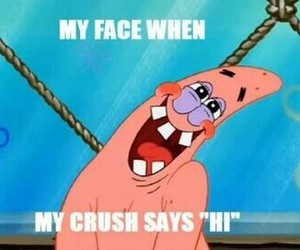 crush, patrick, and funny image