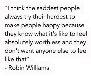 quotes, sad, and robin williams image