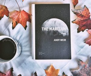 book, black and white, and leaves image