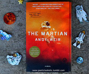 book and the martian image