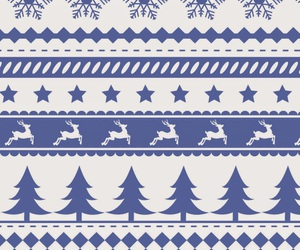blue, christmas, and love it image