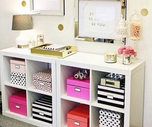 organise, pink, and quote image