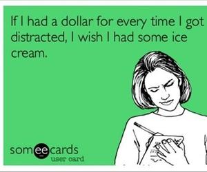 funny, ice cream, and lol image