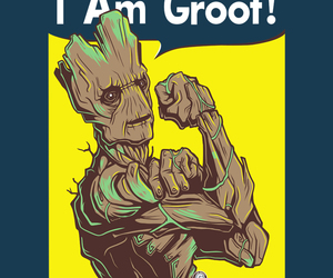 we can do it, groot, and guardians of the galaxy image
