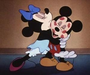 love, kiss, and disney image