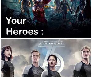 hungergames and myheroes image