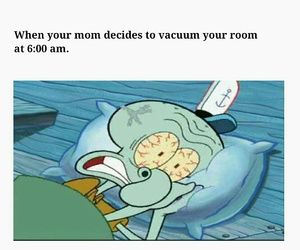 funny, hilarious, and squidward image