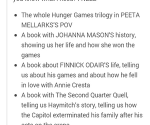 tumblr, hunger games, and fangirl image