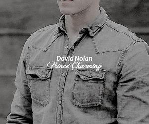 once upon a time, david nolan, and prince charming image