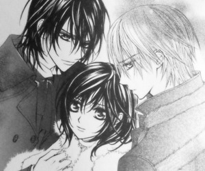 anime, couple, and vampire knight image