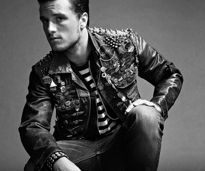 josh hutcherson, sexy, and the hunger games image