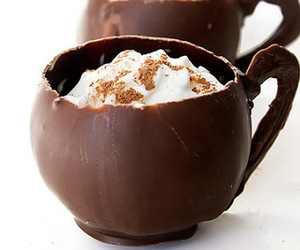 chocolate, food, and cup image