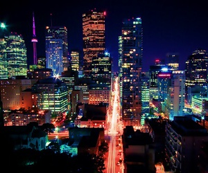 city, lights, and luces image