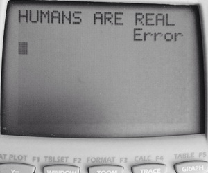 error, humans, and quote image