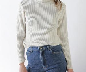 jeans, sweter, and outfit image