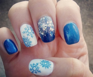 blue, christmas, and ideas image