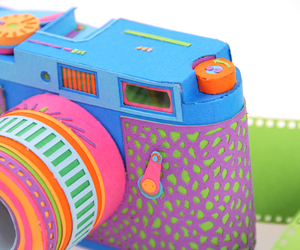 camera, colorful, and art image