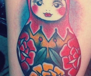 color, cute, and russian doll image