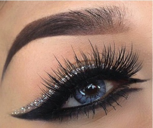 beautiful, eyeliner, and eyes image